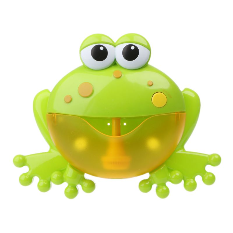 Frog Bubble Maker Bath Toys Crab Bubble Maker Toys Music Bathtub Kids Bathroom Newborn Gift Water Toys in Bath Toy from Toys Hobbies