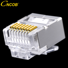 cncob Cat5E FTP flat cable, network connector 8P8C