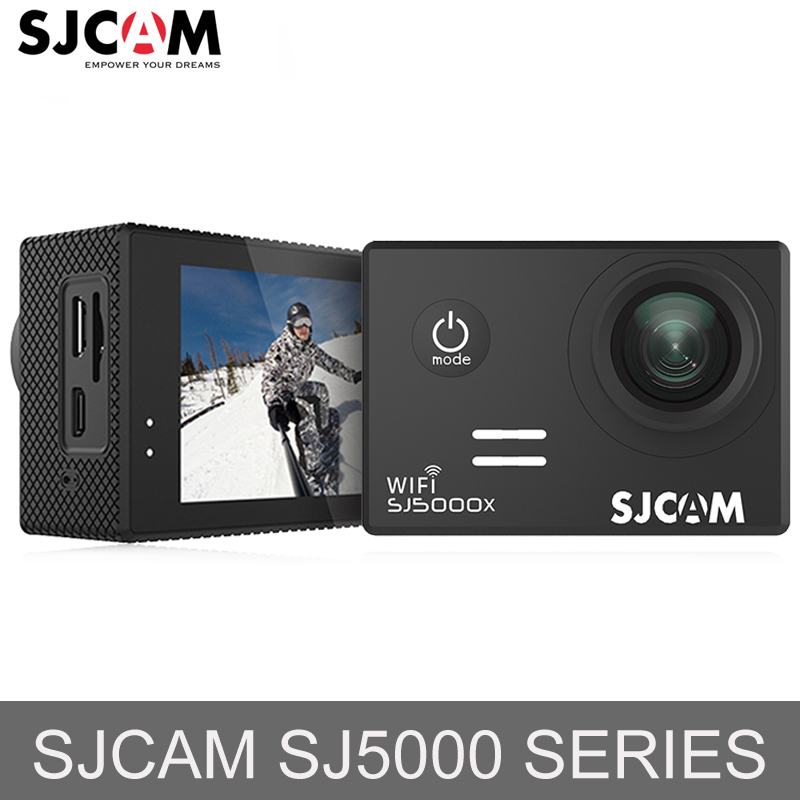 SJCAM SJ5000 і SJ5000X WiFi Ultra HD 4K Дія Камера 30м Водонепроникний Шолом Спорт Камера Go Extreme Pro Cam Mini DV
