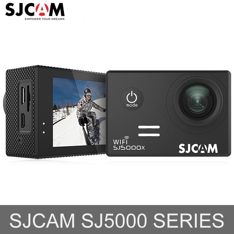 Stock russie! SJCAM SJ5000 & SJ5000X WiFi Ultra HD 4 K caméra d'action 30 m étanche casque Sport caméra aller extrême Pro Cam Mini DV