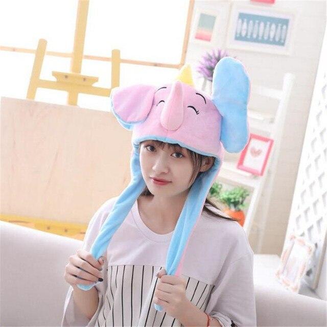 Плюшевая шапка Слон  3