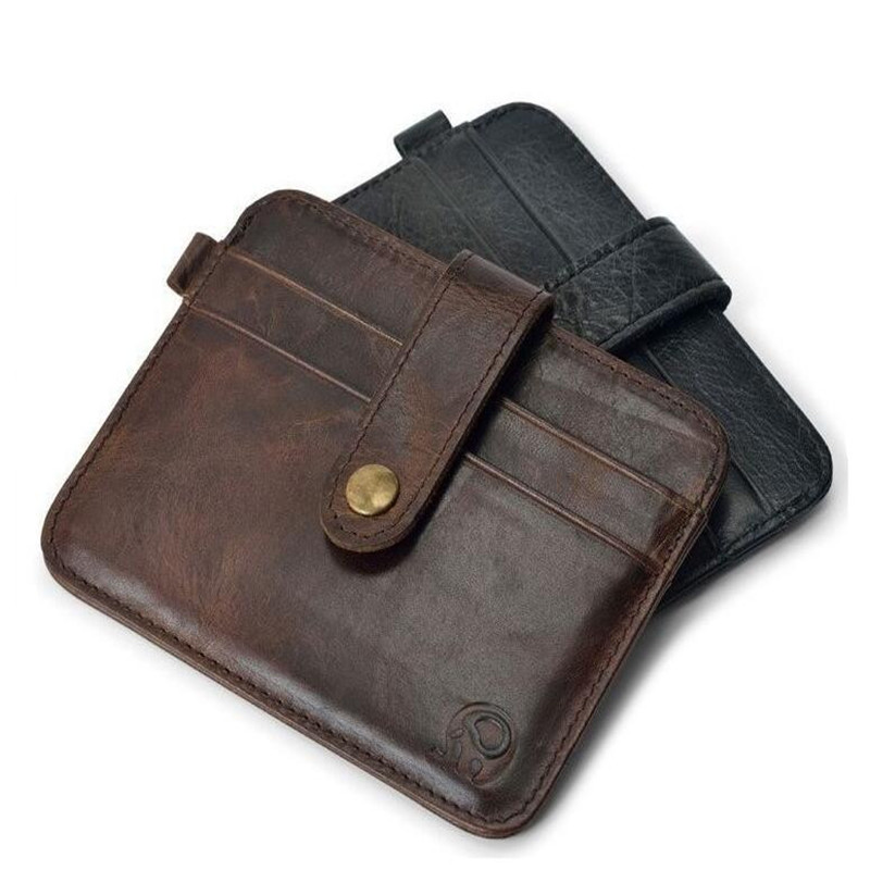 100% genuineFamous Märke Luxury Slim Wallet Män Handväska - Plånböcker - Foto 2