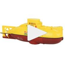 Радиоуправляемая подводная лодка игрушка пластиковая мини для погружения на открытом воздухе Rc Подводные игрушки пульт дистанционного управления модель подводной лодки беспроводной Rc под водой