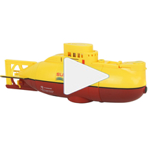 Rc Submarine Toy Plastic Mini Outdoor Dive Rc Underwater Toys Electric Remote Control Submarine Model Wireless Rc Under Water