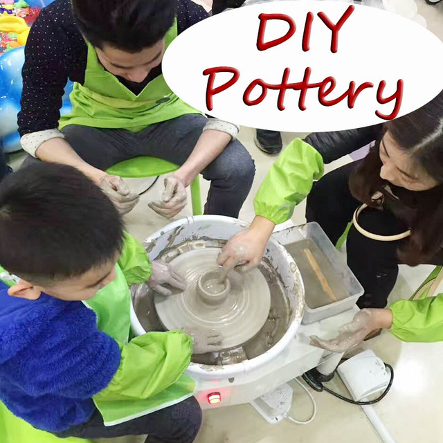 Pottery Project Package With Ceramic Tools Clay Molding Machine
