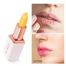 O.TWO.O Natural Lip Stick Red Color Changing Temperature Long-lasting Moisturizi