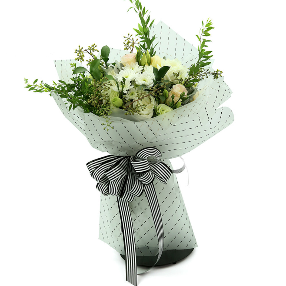 Korean Gift Wrapping Concise Flower Packing Paper Bouquet Packing