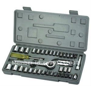 40pcs socket set 1/4