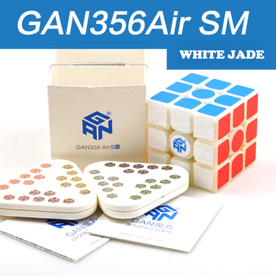 GAN 356 Air SM vitesse Cube avec aimants positionsusuperspeed magnéto magic System GRSv2 nid d'abeille surface de contact 3x3 Cubes - 2