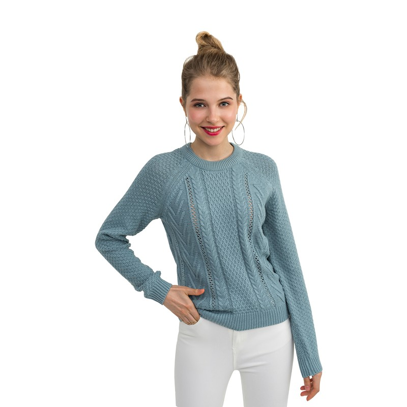 Sweaters befree 1831355871-43 jumper sweater pullover women clothes for female apparel TMallFS