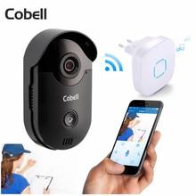 Cobell HD 720 P телефон видео домофон Wi-Fi Дверные звонки охранных Ночное видение Беспроводной Дверные звонки домофона