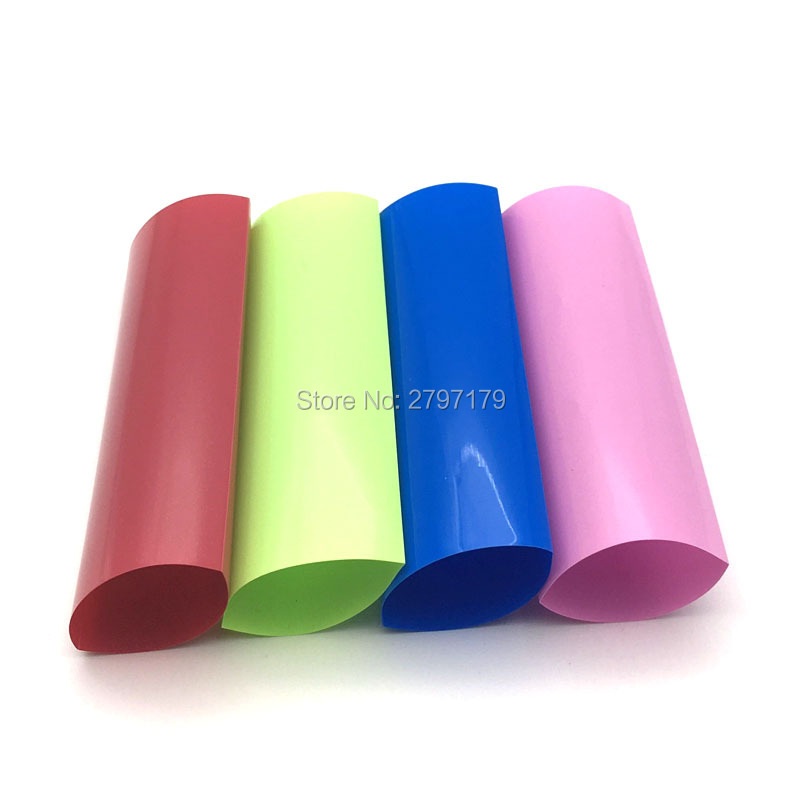 PVC Schrumpfschlauch Wrap RC Batterie Packung 17mm 300mm Lipo Nimh Nicd UK