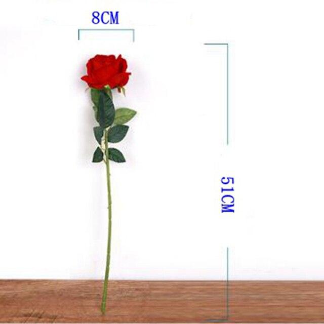 10 Stucke 51 Cm Simulation Von Rosen 8 Arten Von Farbe Hochzeit