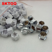 Фотография 100pcs/set Wheel Rim Cover Tyre Screw Cap For Peugeot 207 301 307 308 408 508 3008 Citroen C4l C5 C2