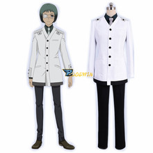 Anime Tokyo Ghoul RE Cosplay Costume Re Mutsuki Toru Uniform Adult  Outfit Halloween with Eye mask
