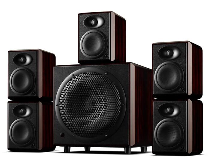 цена на H4 H10SUB Multimedia Active Monitor Cinema Speaker home theater DSP crossover active bookshelf monitor speaker