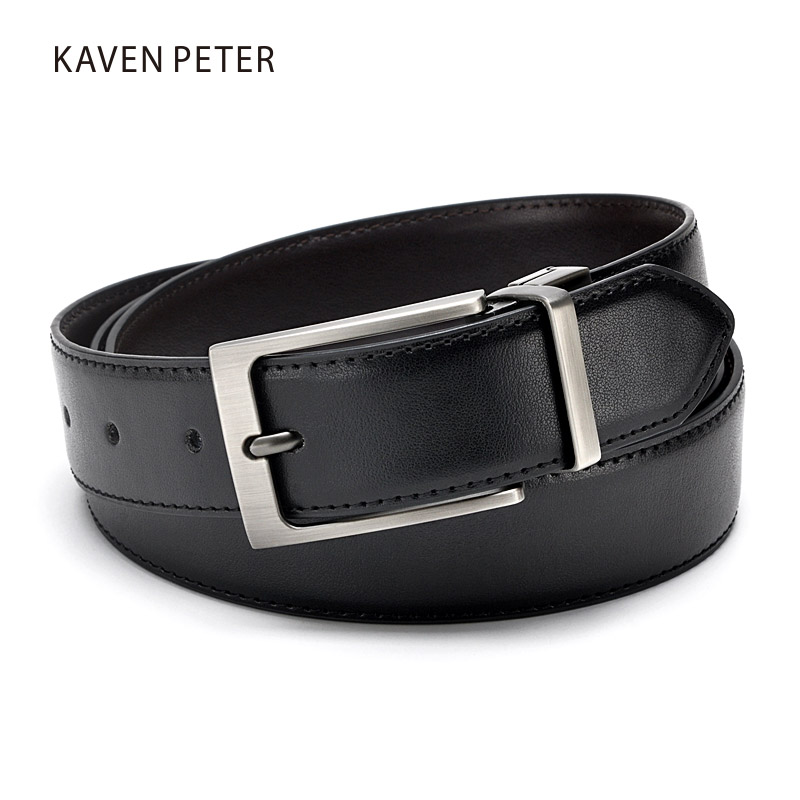 Mens Formal Leather Reversible Buckle s