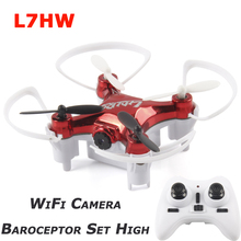 Altitude Hold Function L7HW WiFi Real-Time 720P FPV Camera RC Quad Copter RTF RC Helicopter with Barometer Set Height Mode