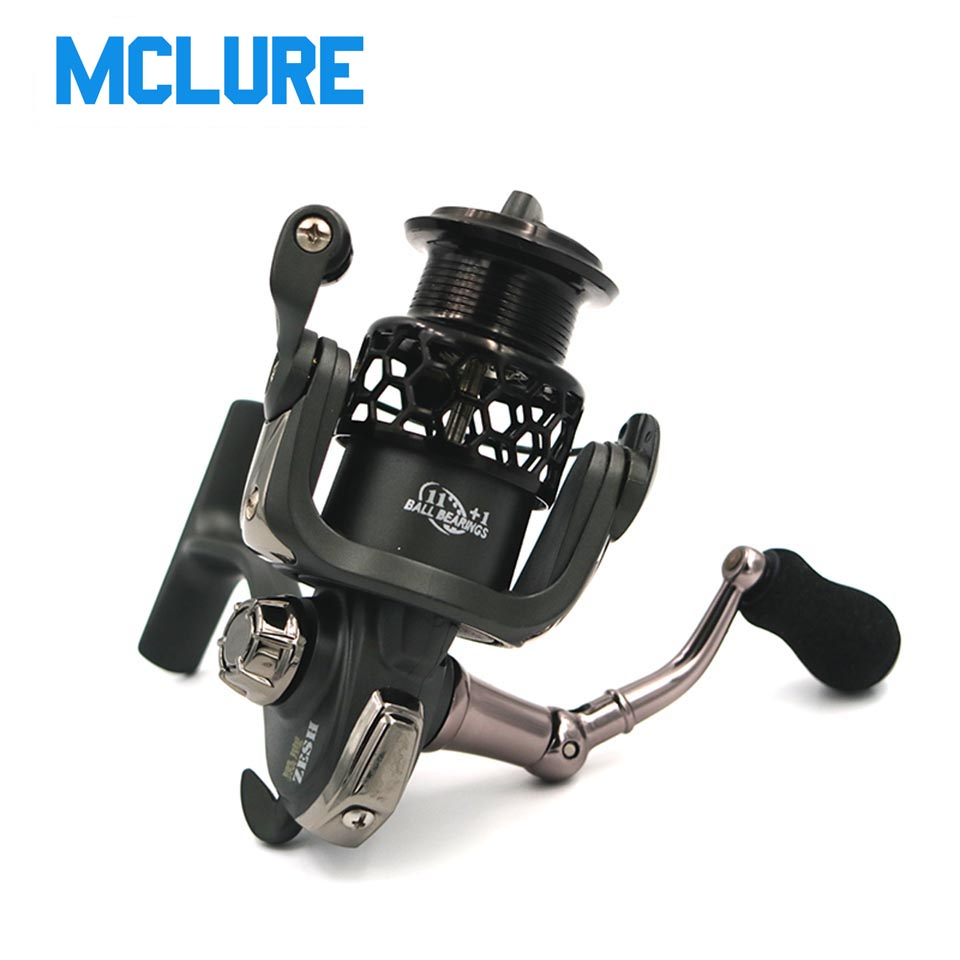 Fishing Reel ZH 2000Series 12BB 5:2:1 Spinning Reel Surfing Bait Freshwater Saltwater Spinning Fishing Reels Fish Tool кастрюля oursson ca 2000 p bb