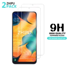 2 Pcs Tempered Glass For Samsung Galaxy A50 Screen Protector 2.5D 9H Protective Film