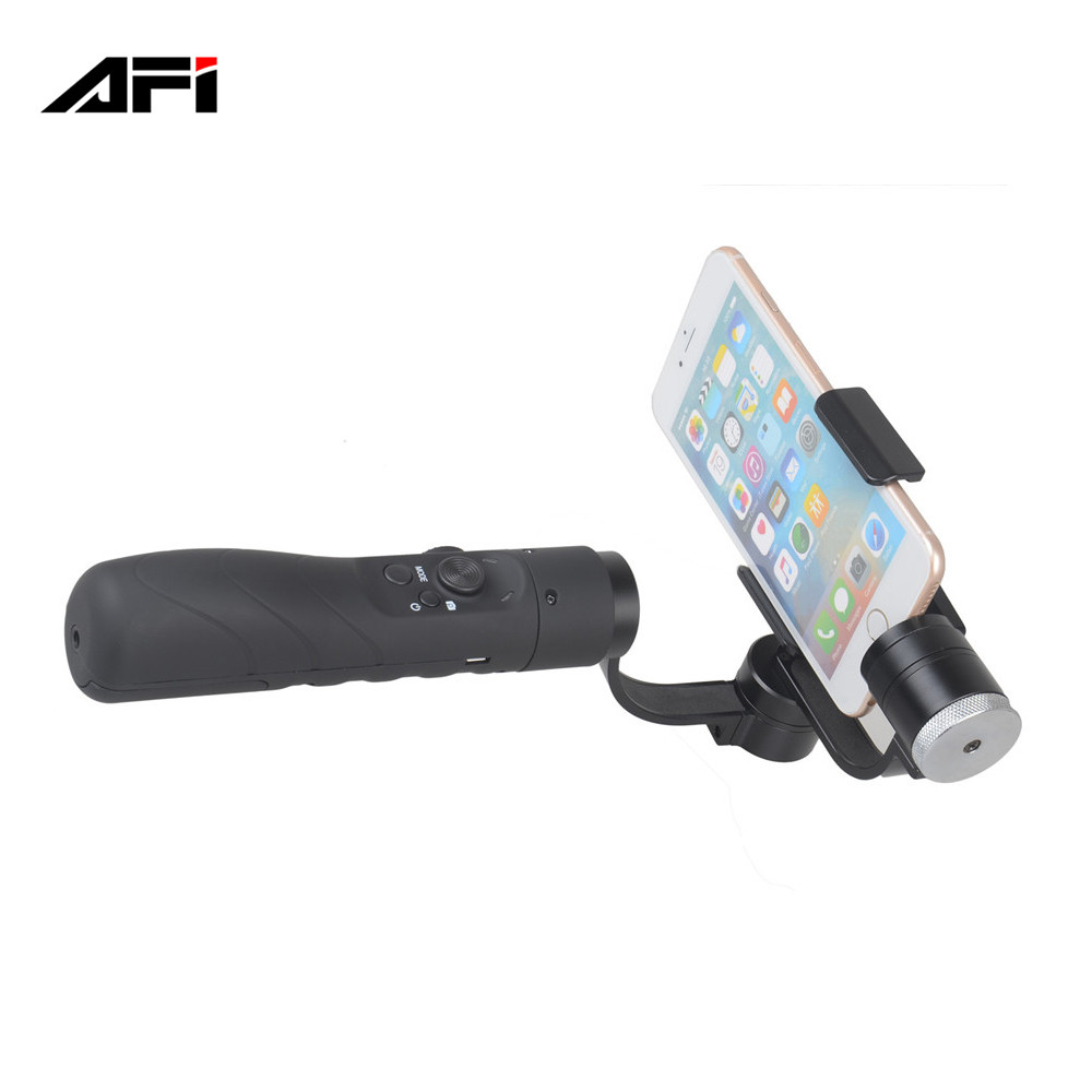 alibaba china supplier AFI V3 handheld 3 axis gimbal axis 3 for iphone gopro action cam