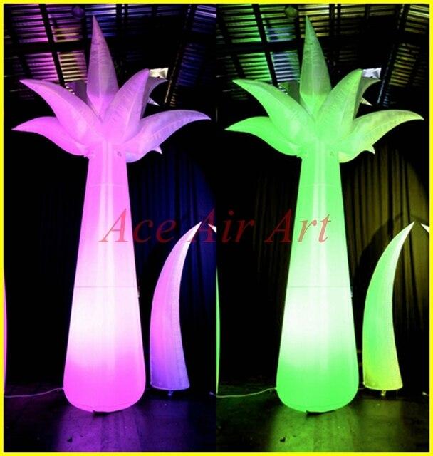 Mooie Staniding decoratie opblaasbare palmboom met Led verlichting ...