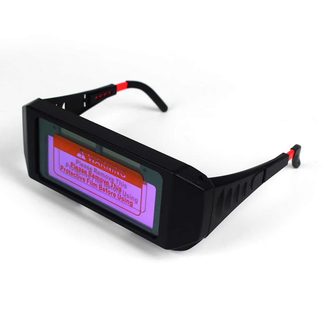 1b1523ae 1 Pair Solar Auto Darkening Welding Goggle, Safety Protective Welding  Glasses Mask Helmet, Eyes