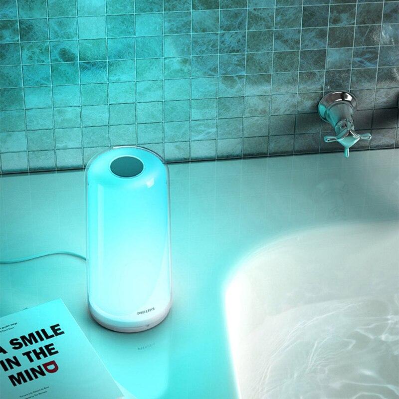 Nieuwe stijl Xiao mi mi jia smart Led BEDLAMPJE Rgbw DIMBARE Nachtlampje Usb TYPE c WIFI Bluetooth 100 240V Smart mi Thuis APP - 6
