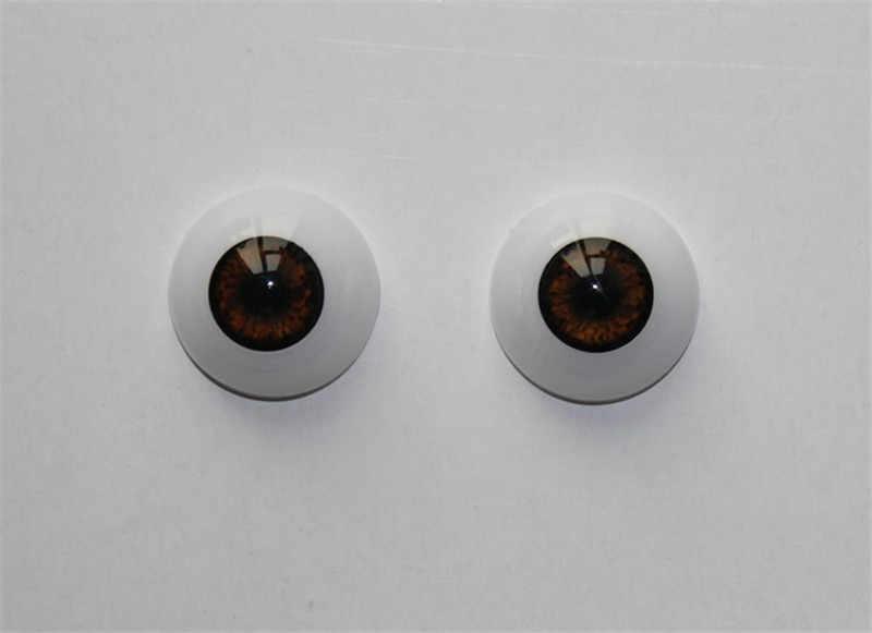 Высокое качество 20/22/24 мм разные цвета Кукла реборн акрил глазного яблока для ребенка, чтобы DIY Реалистичного Reborn кукла горячий Кукла аксессуар