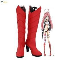 That Time I Got Reincarnated as a Slime Tensei Shitara Datta Ken Milim Nava Cosplay Shoes Custom Made Boots