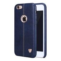 Voor iPhone 6 Plus 6 s Plus Case Originele Nillkin Englon Lederen Cases Voor iPhone 6 6 s Case Coque fit met magnetische houder