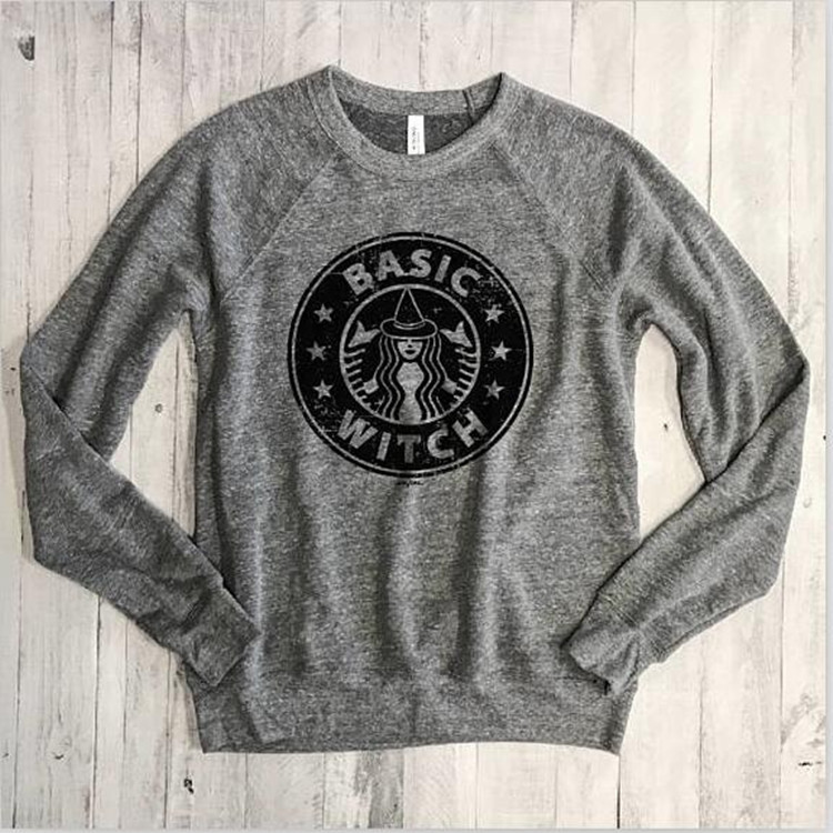 woman hoodies sweatshirts ladies autumn winter 2019 clothing sweat basic witch festivals classics fashion shirts
