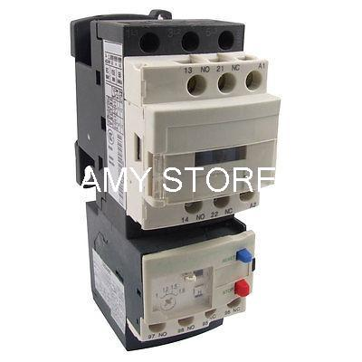 LC1D09 AC Contactor 3 Phase 220 Volts 1 1 6 Amp LRD06 Overload Relay Combo lc1d09 ac contactor 3 phase 220 volts 1 1 6 amp lrd06 overload  at mifinder.co