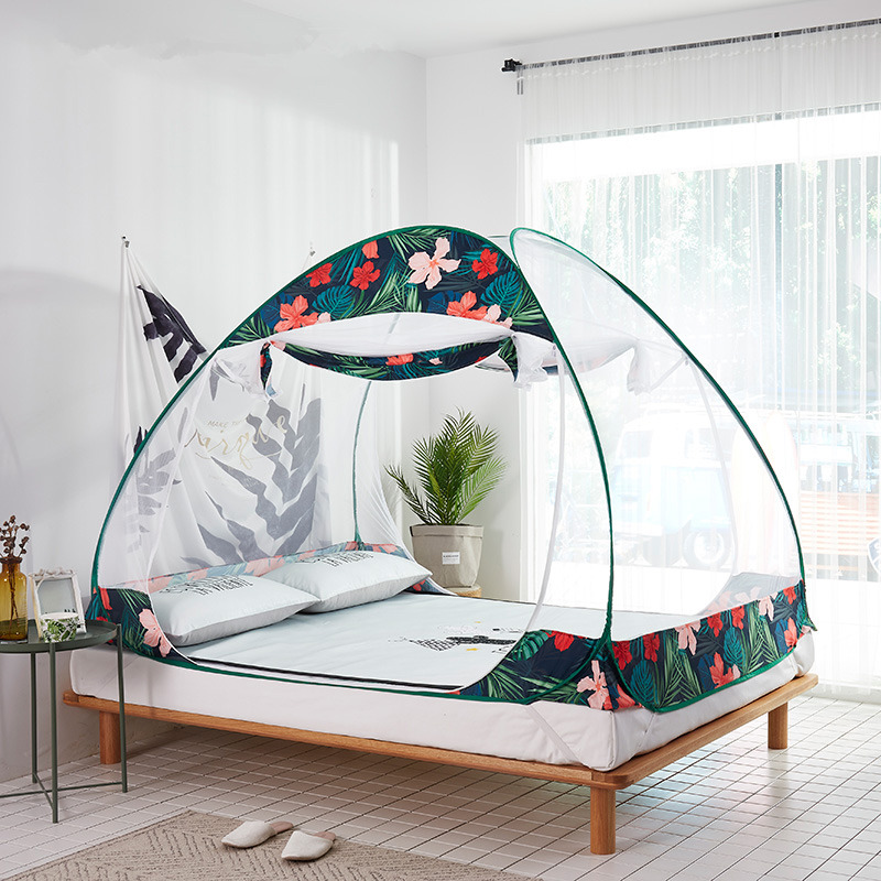 Mongolia Yurts Magic Mosquito Nets for Child Baby Cot Guardrail Tents Canopy Lovely Children Room Decoration Netting kinderbett|Crib Netting| |  - title=