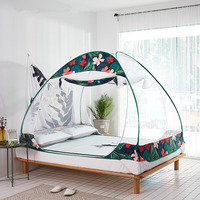 Mongolia Yurts Magic Mosquito Nets for Child Baby Cot Guardrail Tents Canopy Lovely Children Room Decoration Netting kinderbett