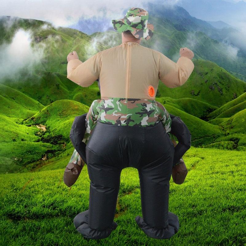 Надувные костюмы шимпанзе oranguta Унисекс T-rex фантазии динозавров Детская disfraces Вечерние игры на открытом воздухе Косплей игрушка для верхово...