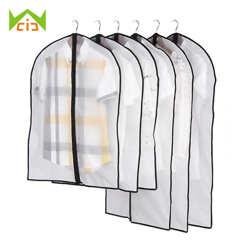 WCIC Coat Protector Organizer Suit Storage-Bag Wardrobe Dust-Cover Waterproof Household