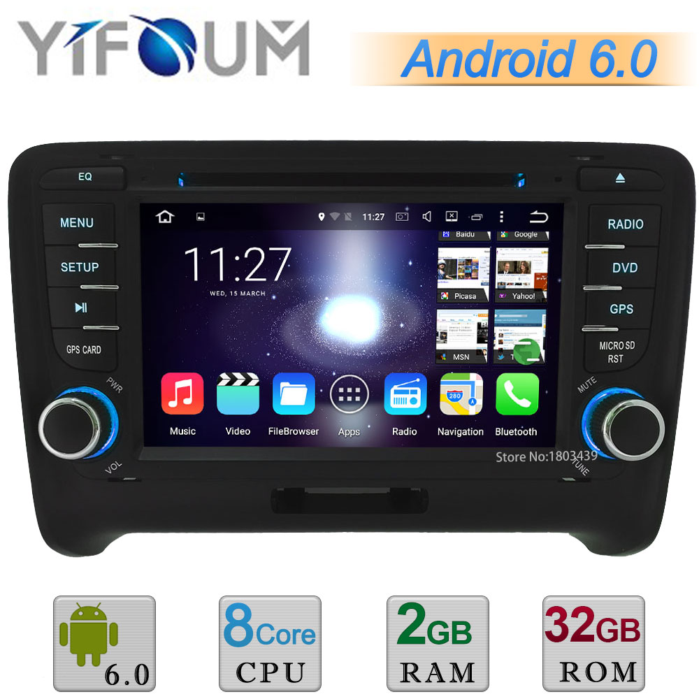 Octa Core A53 PX5 2GB 32GB 7 HD Android 6 0 1 Car DVD Multimedia Player