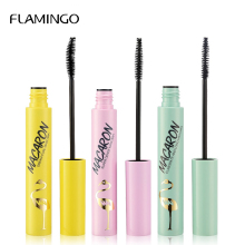 Flamingo Mascara Waterproof Luxury Brand Cosmetics Profession Makeup Black Color Thick Lengthening Eye Lashes 61212