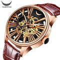 ViuiDueTure Luxury Brand Mechanical Watches Men Hollow Automatic Watch Waterproof Montre Homme Relojes Leather Watch Men 4629