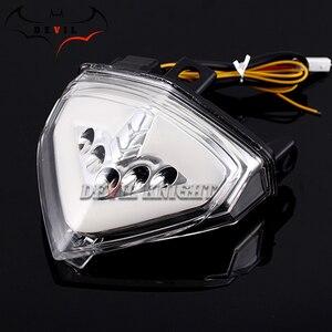 Image 3 - Voor HONDA CB1000R 2008 2013 CBR600F LED Blinker Achterlicht Motorfiets Richtingaanwijzer Achterrem Achterlicht CB 1000R CB1000 R