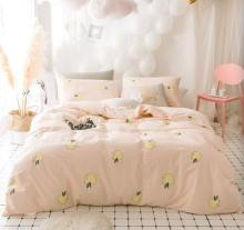 Cute cartoon apple bedding set teen kid,twin full queen king cotton single double home textile bedsheet pillow case duvet cover