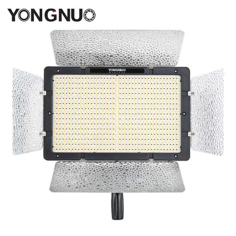 Prix pour Yongnuo yn1200 pro led lumière vidéo avec 3200 k à 5500 k réglable couleur temprature pour canon nikon pentax appareil photo reflex caméscopes