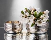German 22K Phnom Penh Fruit Bowl Small Fatty Salad Bowl Lead free Glass Flower Pot Flower Pot Large Bowl Fruit Pan Fruit Bucket