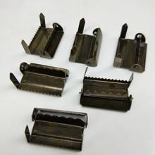 30 pcs/lot Bronze metal buckle Suspenders adjustment buckles Craft Sewing materials Garment Accessories 2.0cm/2.5cm