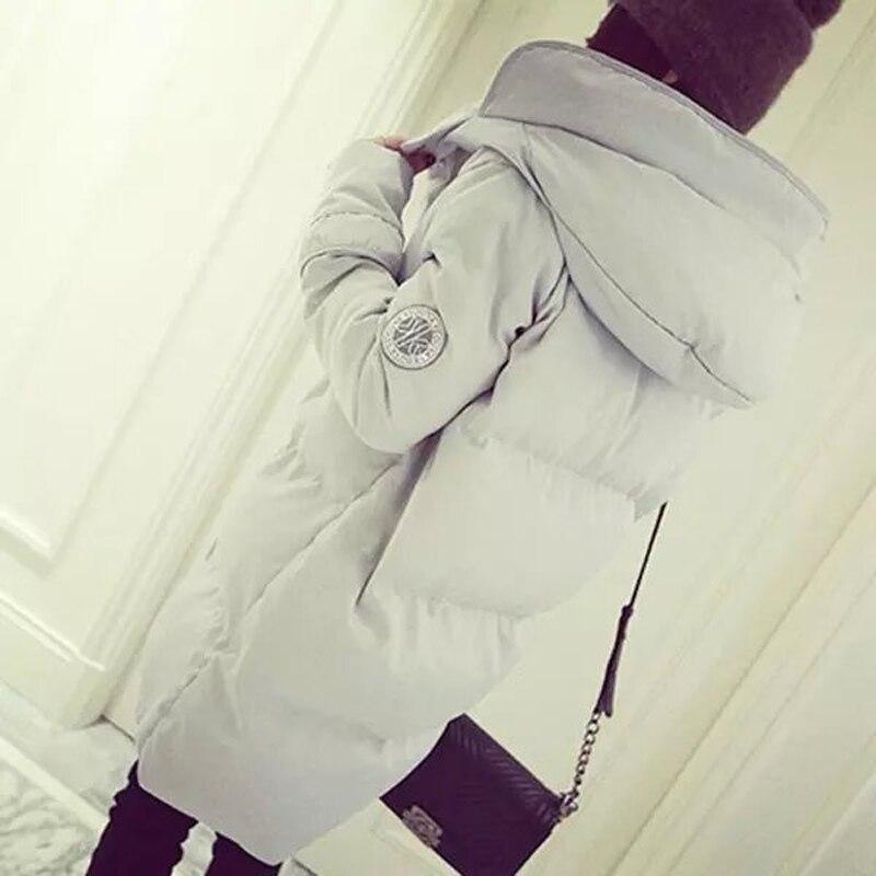 silver Nouveau Long Vestes Gray De Belle D'hiver Coton white Chaud Manteaux Black Rembourré Capuche Taille À Pardessus Style Parkas Marque Femmes S2215 Grande Mode Veste Et tqTUwg8