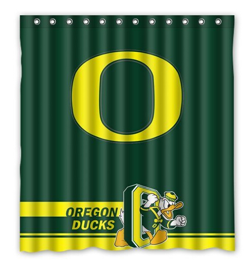 Etonnant New Arrival Polyester Fabric Shower Curtain,Oregon Ducks Bathroom Home  Decorations Size 150x180cm L