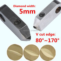Posalux machine tools and accessories 5mm PCD posalux V diamond tools jewellery cutting tool for metal gold silver ring faceting