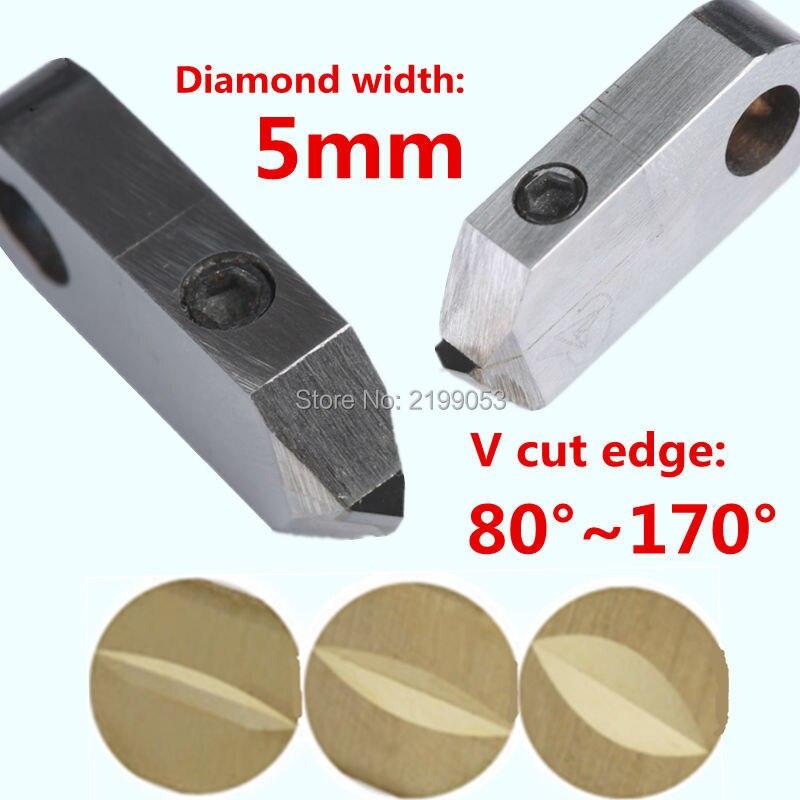 Posalux máquinas herramientas y accesorios 5mm PCD posalux V herramientas de diamante herramienta de corte de joyería de plata para anillo de oro de metal tallado-in Accesorios para herramientas eléctricas from Herramientas on AliExpress - 11.11_Double 11_Singles' Day 1