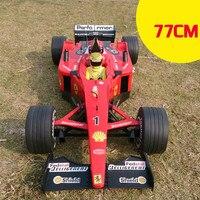 Экспресс доставка 1:6 77 см 4ch супер большой pop F1 формула дистанционное управление гоночный автомобиль модель детей электрический игрушка с 4 x